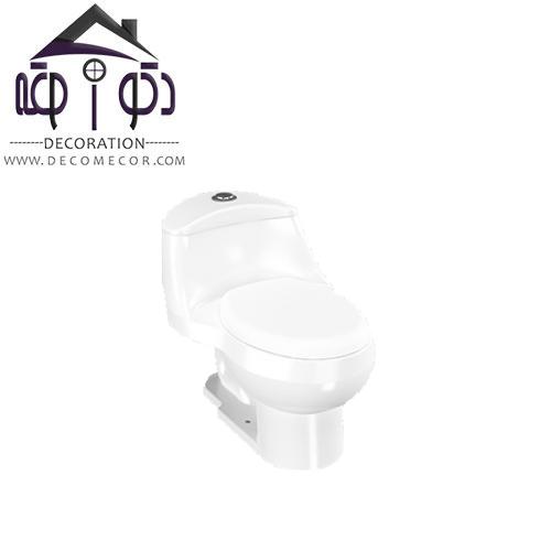 توالت فرنگی مدل لیلیوم بزرگ کرد