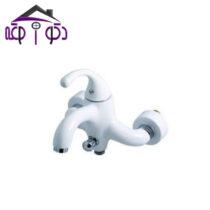 شیر حمام مدل فابیا سفید کرومات