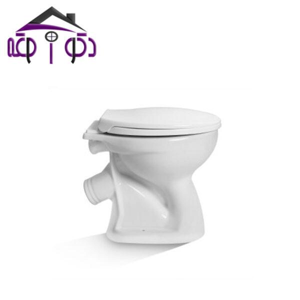 توالت فرنگی دو تکه مدل دلتا مروارید