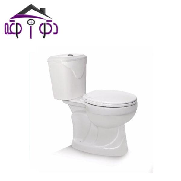 توالت فرنگی دو تکه مدل گلوریا مروارید