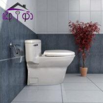 توالت فرنگی مدل کاکتوس گلسار فارس