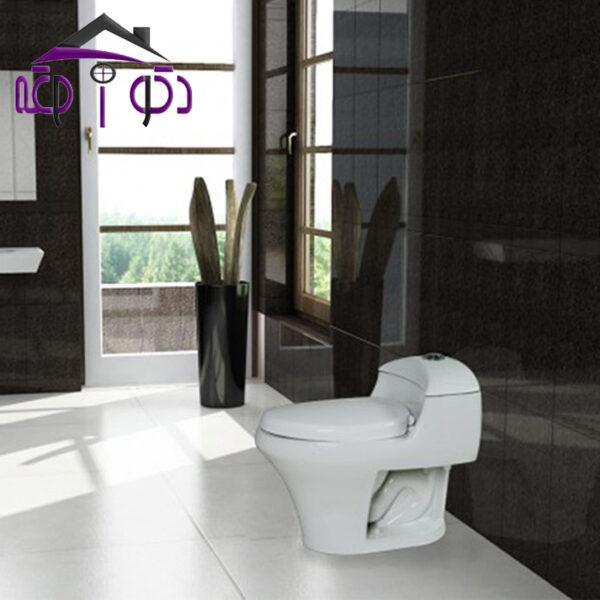 توالت فرنگی مدل نانسی گلسار فارس