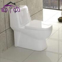 توالت فرنگی مدل پارمیس پلاس گلسار فارس