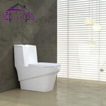 توالت فرنگی مدل یونیک گلسار فارس