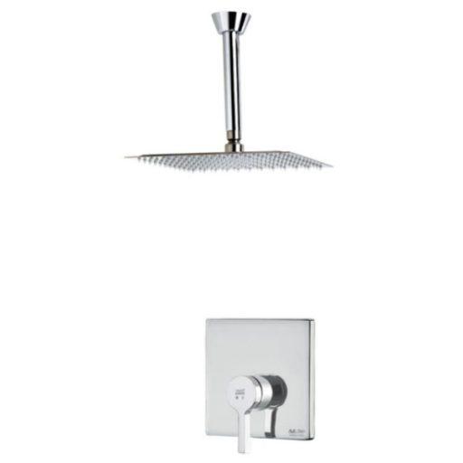 KWC built-in bathroom faucet, model Ava type, one chrome