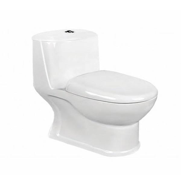 توالت فرنگی مروارید مدل ورونا 61 درجه یک