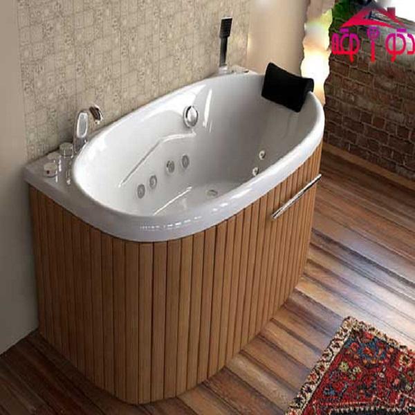 Single Jacuzzi tub model FU1580-W