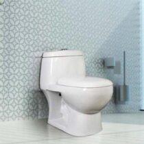 توالت فرنگی گلسار فارس مدل پارمیس بیده دار