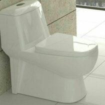 توالت فرنگی گلسار فارس مدل پارمیس پلاس سیملس بیده دار