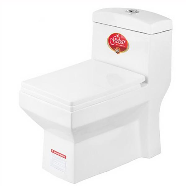 توالت فرنگی گلسار فارس مدل آستر