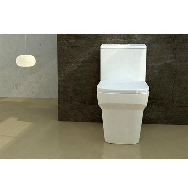 توالت فرنگی گلسار فارس مدل یونیک بیده دار