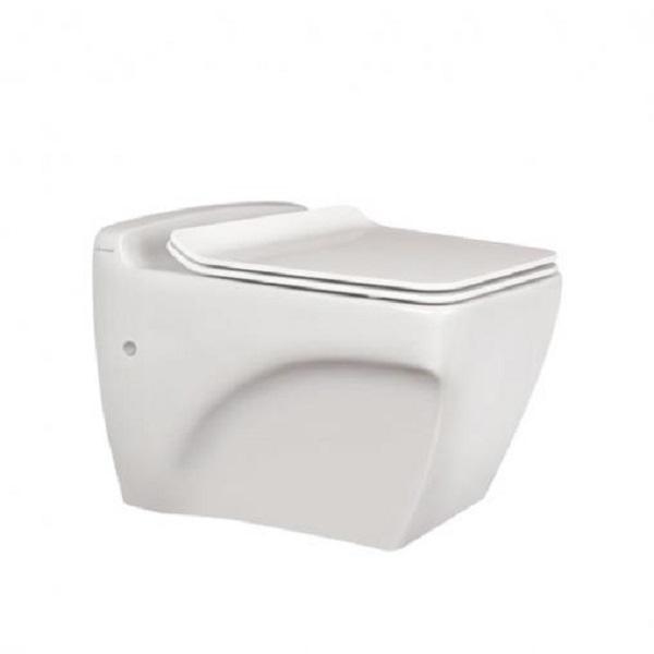 توالت فرنگی وال هنگ مروارید مدل کاتیا 56 درجه یک
