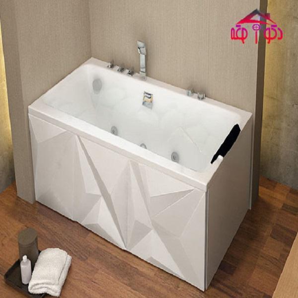 Single Jacuzzi bathtub model 150-LU-38-C