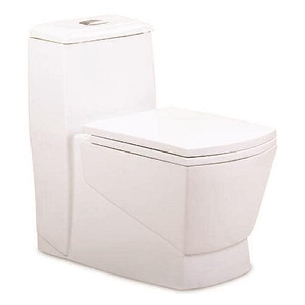 توالت فرنگی بیده دار مروارید مدل مگا 69 درجه دو