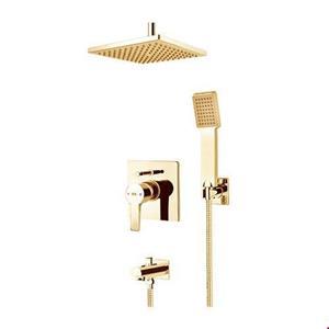 Built-in shower, golden flat model, type 3, Kelar