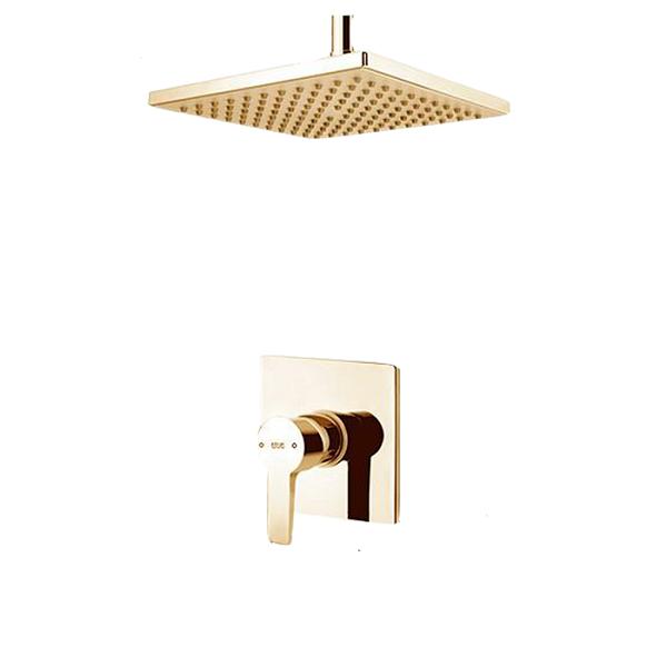 Built-in shower, golden felt model, type 1 Clar