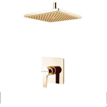 Built-in shower model of luxury gold flat type 1 Clar