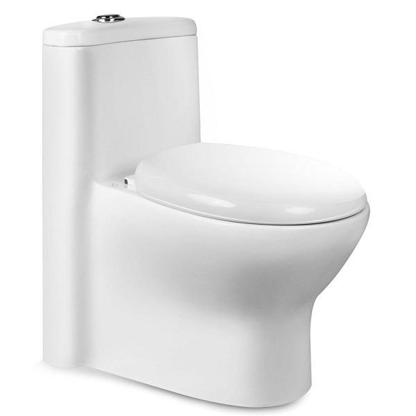 توالت فرنگی بیده دار مروارید مدل پارمیدا 72 درجه دو