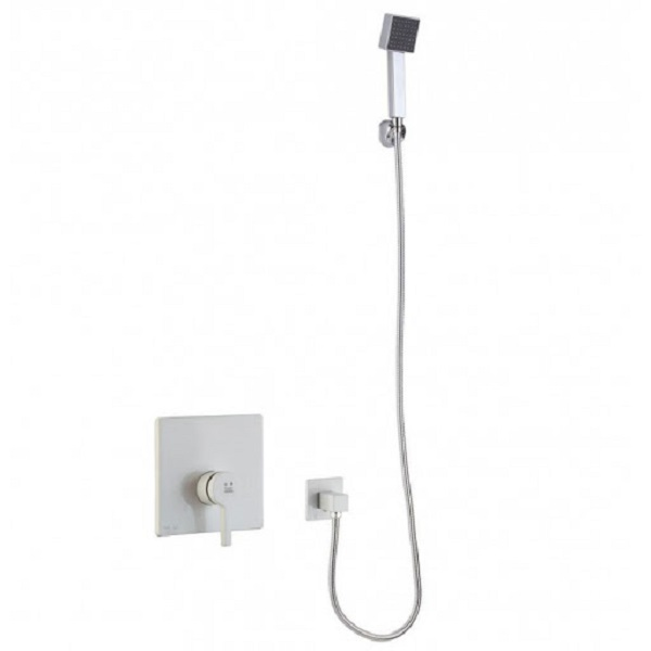 KWC built-in bathroom faucet, model Ava type, two white