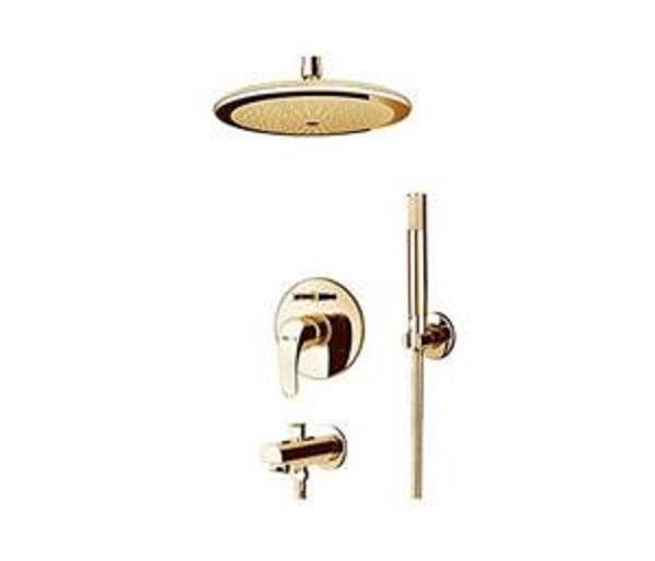 Built-in shower, golden flora model, type 4 Clar
