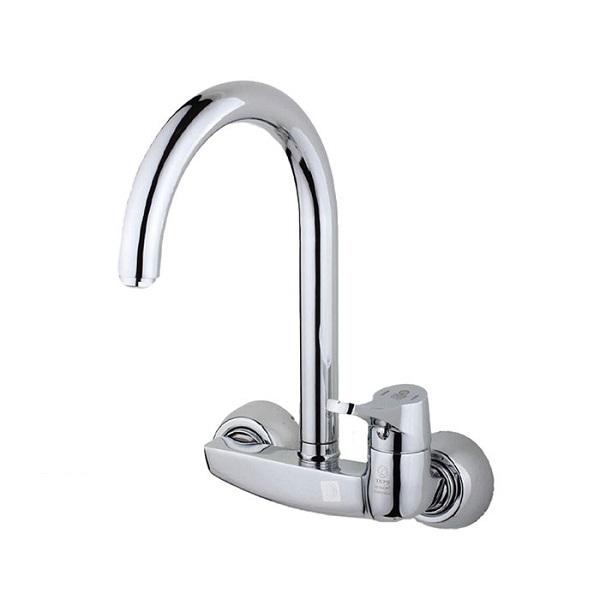Taps chrome wall-mounted dishwasher