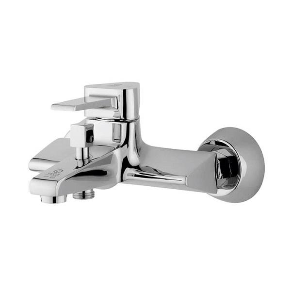 Silver Bermuda bath or shower faucet