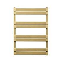 Anit 8-blade towel dryer, Venice model, golden