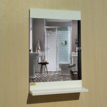 8018 white bathroom mirror