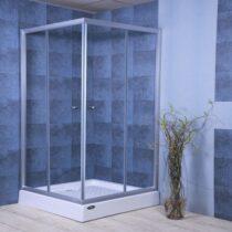 Glass bathroom shower - shower room