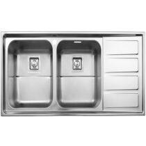 Alborz steel sink model 764 built-in