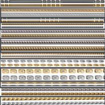 Inter-cabinet tile model 009