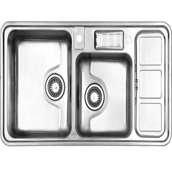 Alborz steel sink model 813 built-in