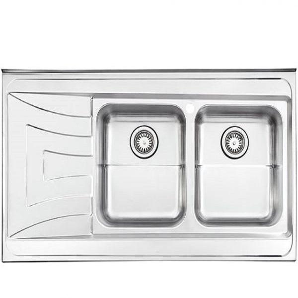 Alborz steel surface model 736 sink