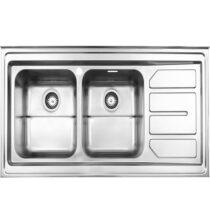 Alborz steel sink model 763 surface