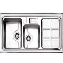 Alborz steel sink model 815 surface