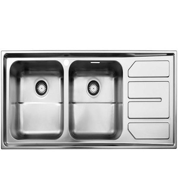 Alborz steel sink model 763 built-in