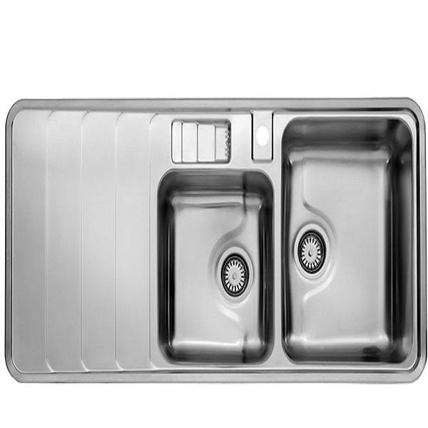 Alborz steel sink model 816 built-in