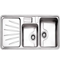 Alborz steel sink model 814 built-in
