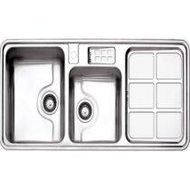 Alborz steel sink model 815 built-in