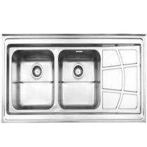 Alborz steel sink model 762 surface