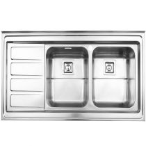 Alborz steel sink model 764 surface