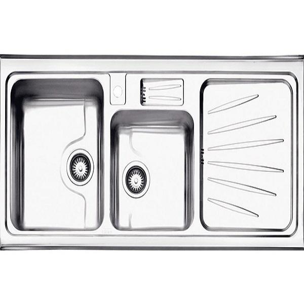 Alborz steel sink, model 814, surface