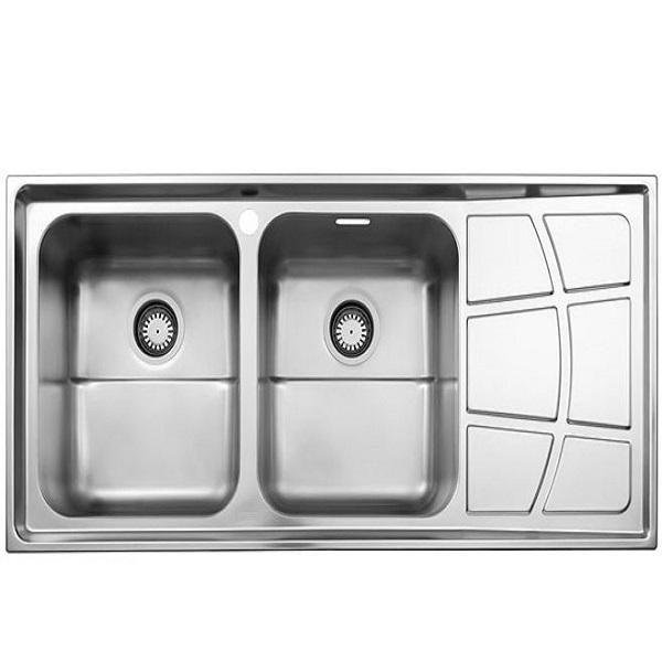 Alborz steel sink, model 762, built-in
