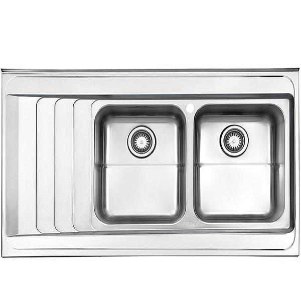 Alborz steel sink model 734 surface
