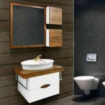 Silver toilet service