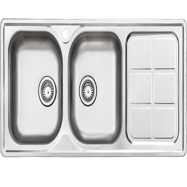 Alborz steel sink model 215 built-in
