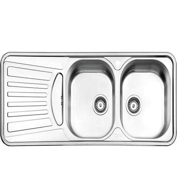 Alborz steel sink, model 725, built-in