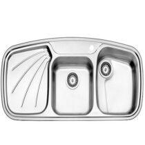 Alborz steel sink, model 614, built-in